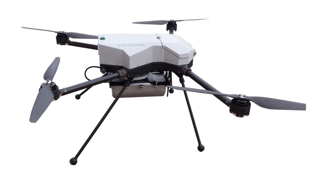 BN-AIRad2无人机辐射监测系统